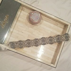 Embelished Rhinestone wedding belt